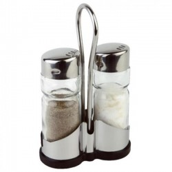 Ménagère inox sel / poivre