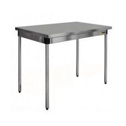 Table inox centrale sur mesure