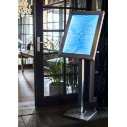 Porte menus éclairage LED...