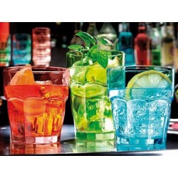 Verre Rock Bar lot de 12