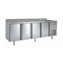 Table réfrigérée avec évier