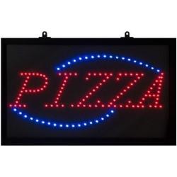 Panneaux lumineux pizza