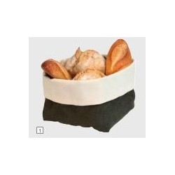 Corbeilles à pain tissu Lot...