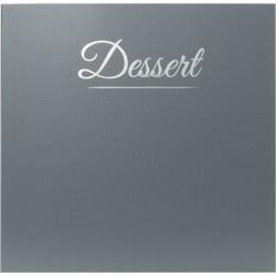 Carte des dessert classique...