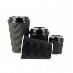Gobelets à café ondulés
