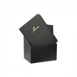 BOX menu A5 noire