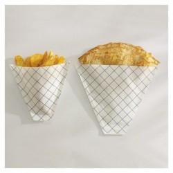 Cornet frites / crêpe