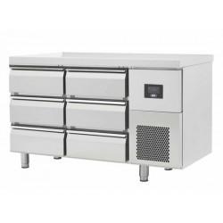 Table réfrigérée 6 tiroirs...