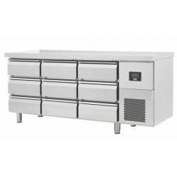 Table réfrigérée 9 tiroirs...
