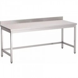 TABLE ADOSSEE 2000 mm x...