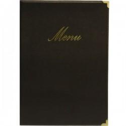 Protège menu noir...