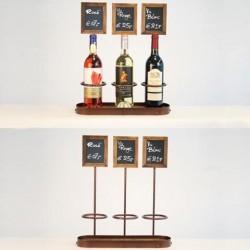 Présentoir pour 3 bouteille...